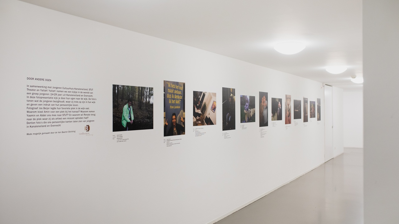 13/13 - De fotopresentatie in het museum.