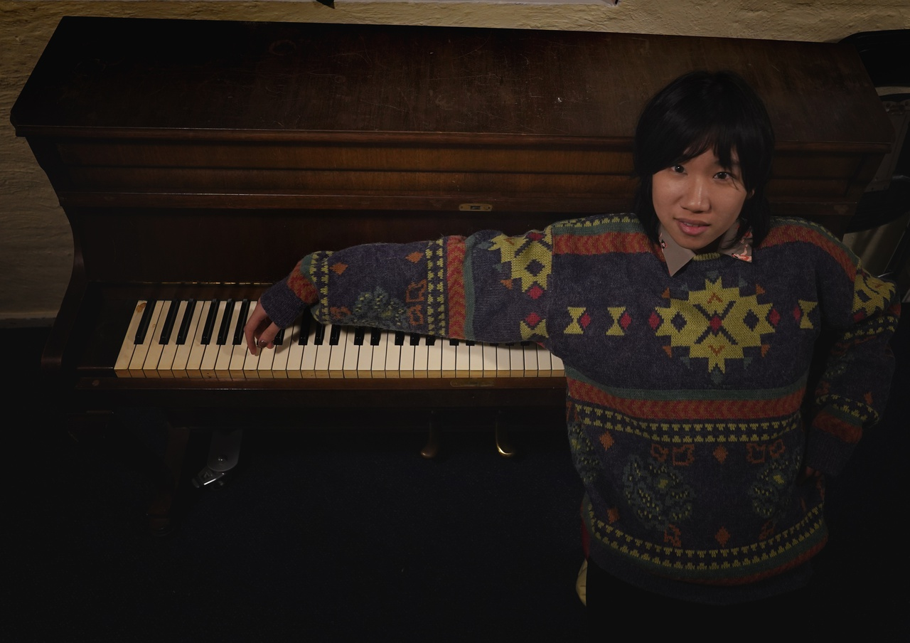 6/13 - Yingru Zhao, Theater Stut Studio, Overvecht. 'My dad bought me a piano after the first time he won a lottery. But I failed to stick with it when I grew up. I feel it is like a familiar stranger walking out from my childhood's memory, but there is no word I could say to her.'