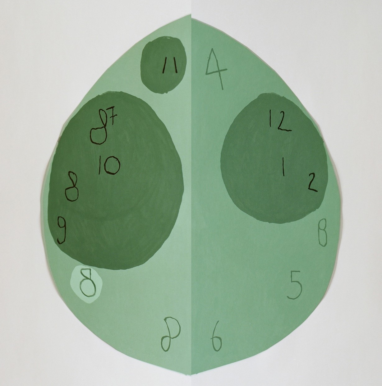 5/6 - Katja Mater, For the Time Being (02, green) (2020).