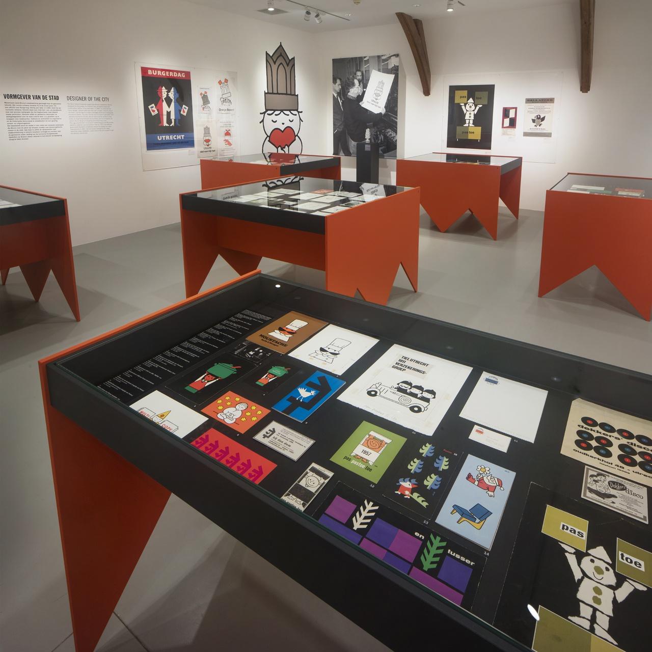 3/6 - Bruna's ontwerp 'Utrecht stad naar mijn hart' was aanleiding voor een tentoonstelling in 2019.