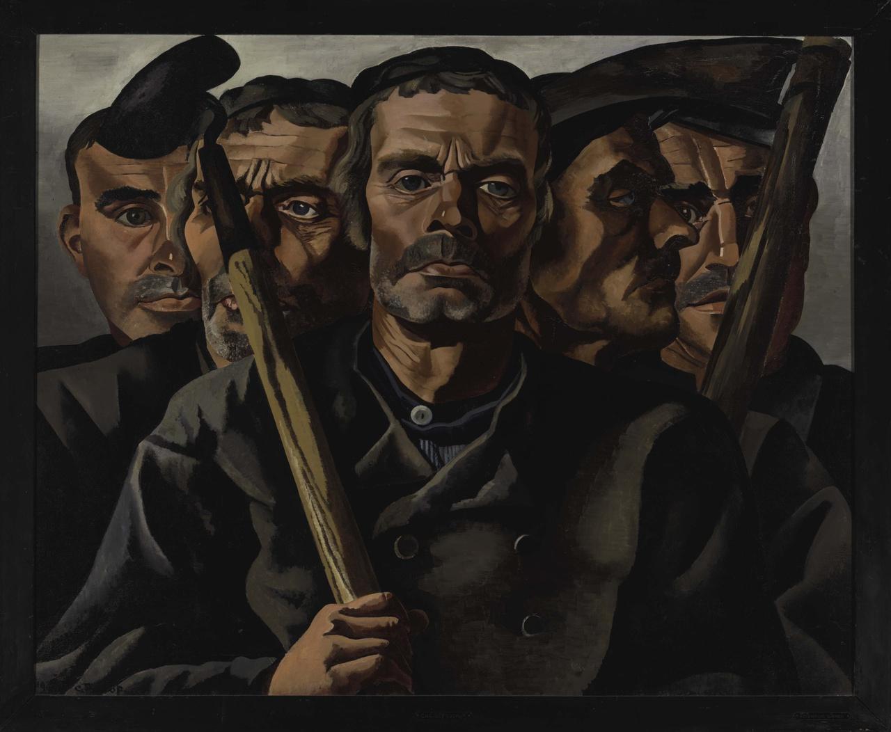 5/11 - Charley Toorop, Boeren, 1930.