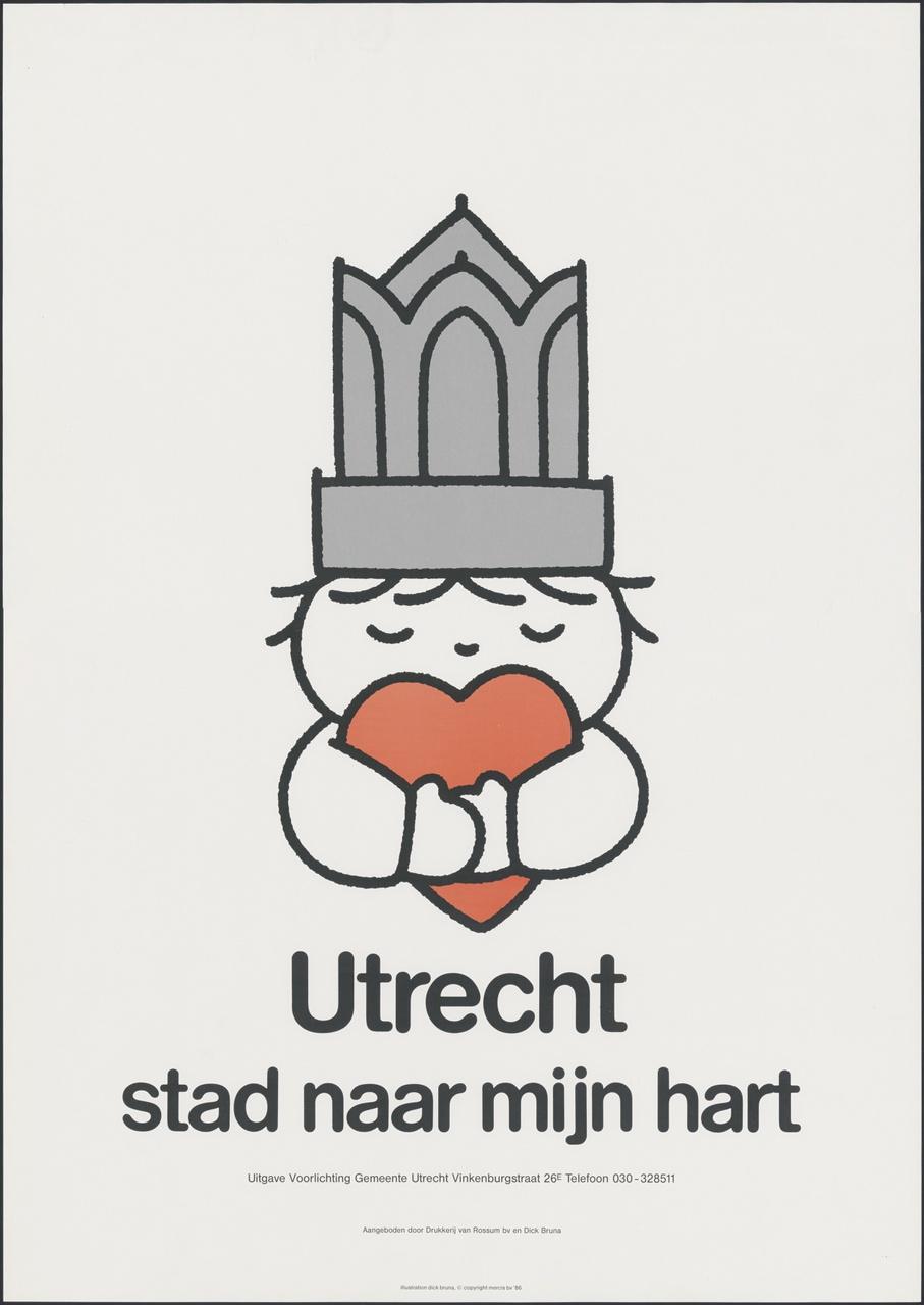Dick Bruna en Utrecht: Hart voor elkaar