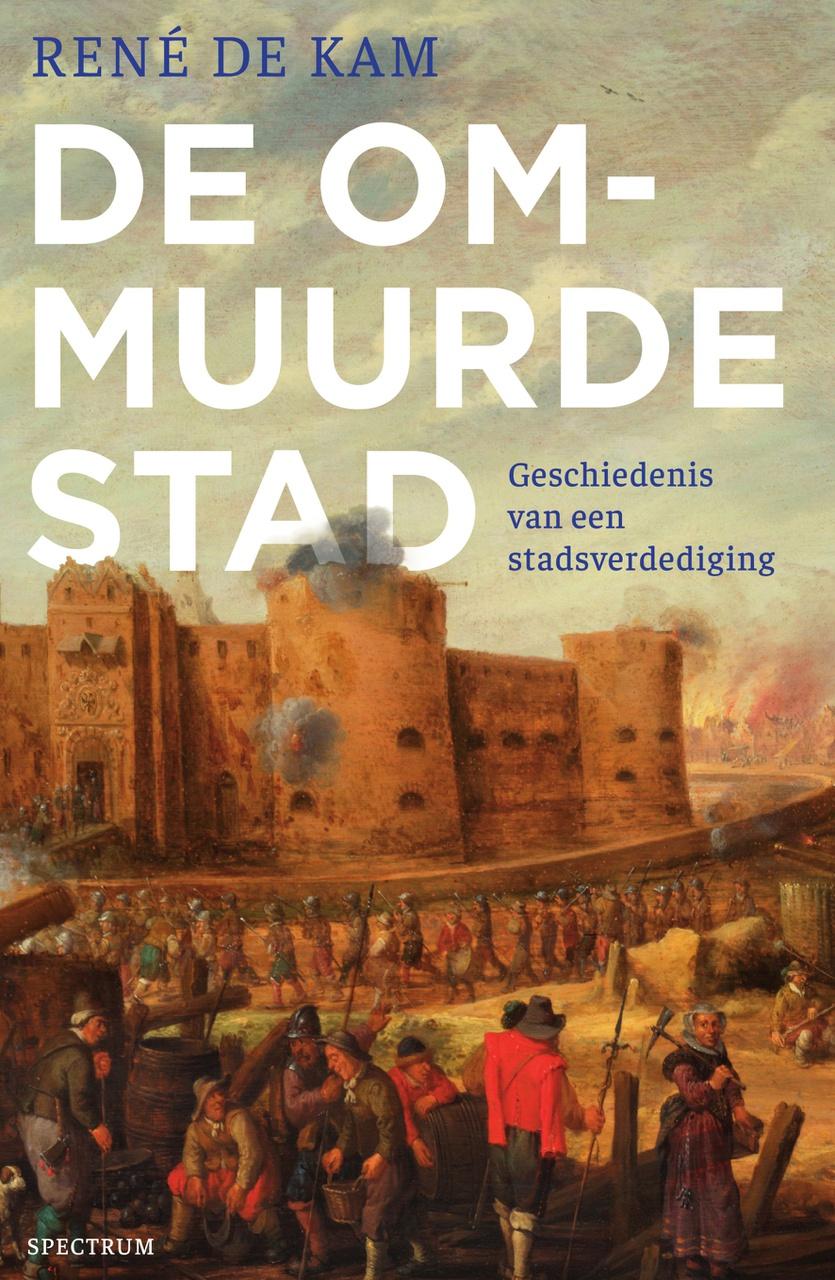Boekomslag de ommuurde stad, Rene de Kam