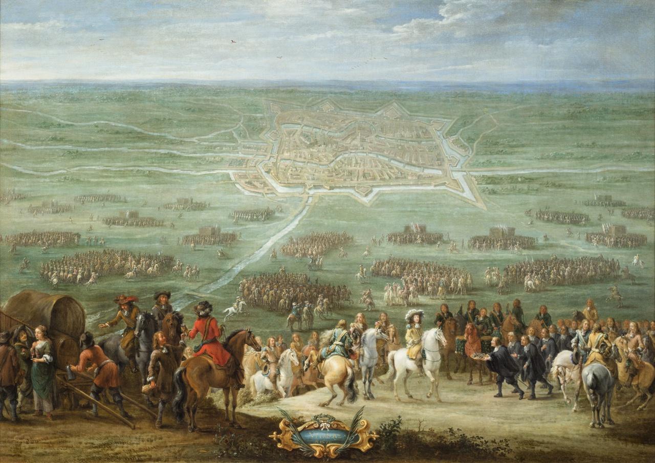 8/8 - Lambert De Hondt, De overgave van Utrecht in juni 1672, 1672, collectie Centraal Museum Utrecht
