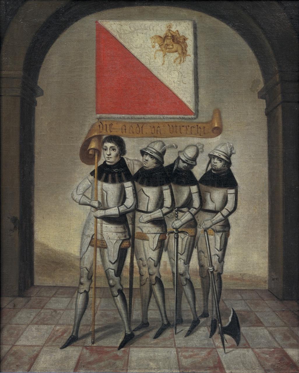 5/8 - Willem Cornelisz van Swanenburgh, De stadsbanier van Utrecht, 1658, collectie Centraal Museum Utrecht