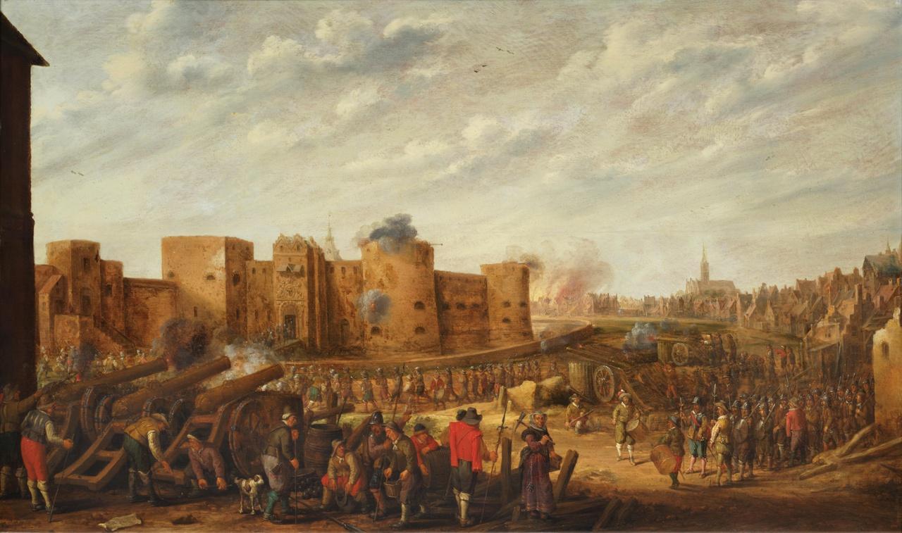 1/8 - Joost Cornelisz Droochsloot, De belegering van Vredenburg 1646, collectie Centraal Museum Utrecht