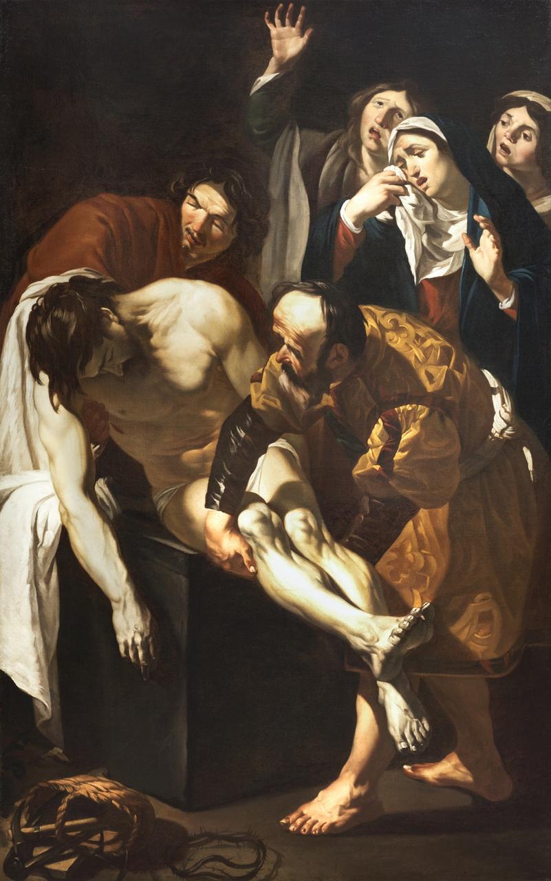 Dirck van Baburen, De graflegging van Christus, 1617-1621
